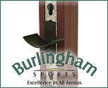 Burlingham Sports Post Standards with Pinless Cup Track (Pair)