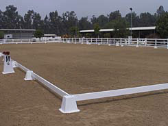 Burlingham Sports Wellington Dressage Arena Picture