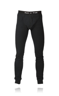 Back on Track Therapeutic Mens Cotton Poly Long Johns Best Price