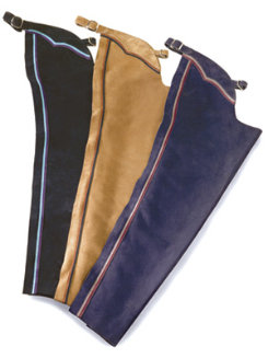 Barnstable Kids Custom Suede English Schooling Chaps