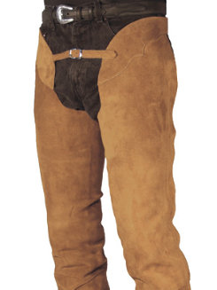 Barnstable Adult Semi Custom Western Suede Boot Cut Chaps Best Price