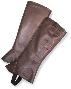 Barnstable Semi Custom Top Grain Half Chaps Best Price