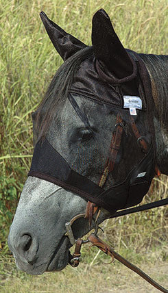 Cashel QuietRide Horse Fly Mask with Ears Best Price
