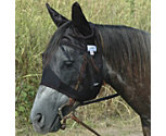 Cashel QuietRide Horse Fly Mask with Ears