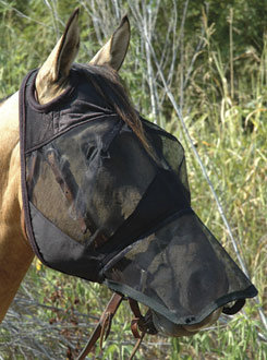 Cashel QuietRide Long Horse Fly Mask Best Price