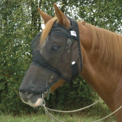 Cashel QuietRide Long Horse Fly Mask