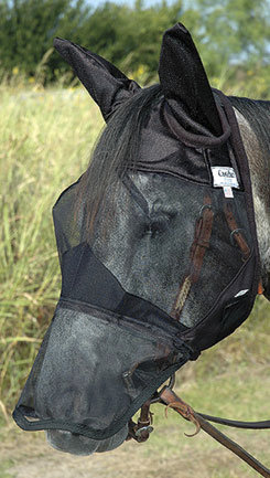 Cashel QuietRide Long Horse Fly Mask with Ears Best Price