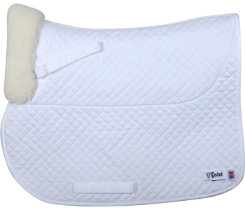Cashel All Purpose Sheepskin Square Saddle Pad Best Price