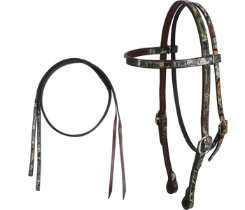 Cashel Camo Headstall with Split Reins Best Price