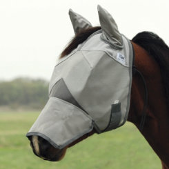 Cashel Crusader Fly Mask with Long Nose and Ears Best Price