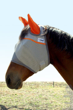 Cashel Animal Rescue Benefit Fly Mask with Ears Best Price