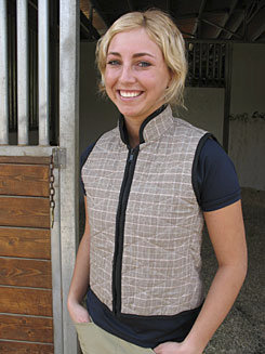 Cool Medics Ladies Plaid Cooling Vest Best Price