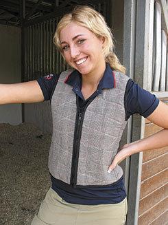 Cool Medics Ladies Plaid V Neck Cooling Vest Best Price
