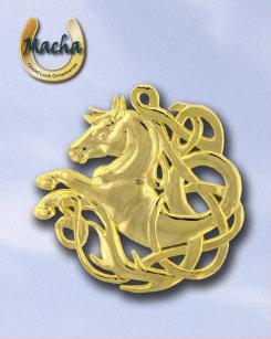 Macha Single Horse Celtic Knot Ornament Best Price