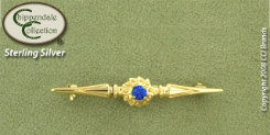 Chippendal Gold Byzantine Stock Pin Best Price
