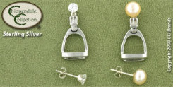 Chippendale Stirrup Jacket Earrings Best Price