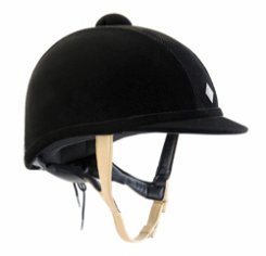 Charles Owen AYR 8 Classic Helmet with Black Harness Best Price