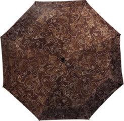 dav Dark Brown Paisley Compact Umbrella Best Price