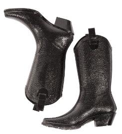 dav Ladies Black Lizard Western Cowboy Boots Best Price