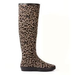 dav Ladies  Festival Leopard Rain Boots Best Price