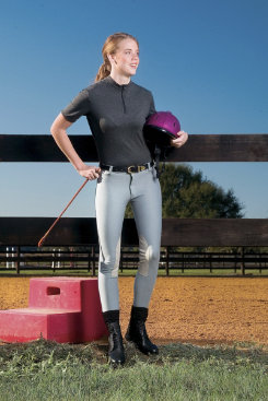 Devon-Aire Ladies Cotton Classic Hipster Riding Breeches Best Price