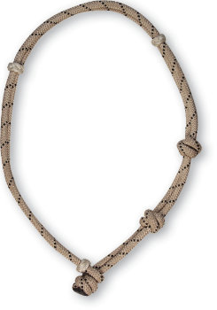 Classic Equine Calf Roping Neck Rope