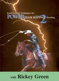EquiMedia Rickey Green: Method 2-Power Team Roping DVD Best Price