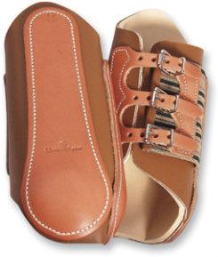 Classic Equine Split Leather Splint Boots Best Price