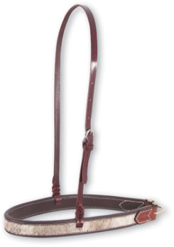 Martin Saddlery Leather with Hair Inset Noseband Best Price