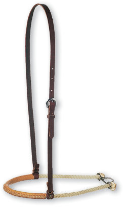 Martin Saddlery Single Rope with Leather Covered Noseband Best Price