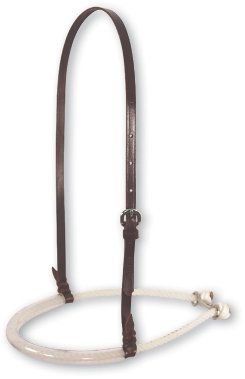 Martin Saddlery Single Rope Noseband with Rubber Cover Best Price
