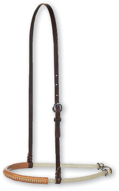 Martin Saddlery Double Rope Leather Cover Noseband Best Price