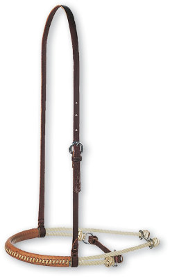 Martin Saddlery Double Rope with Leather Cavesson Best Price