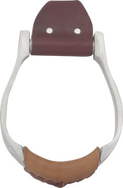 Martin Saddlery Engraved Aluminum Oxbow Stirrups