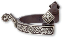 Classic Equine Diamond Scroll Spur Best Price