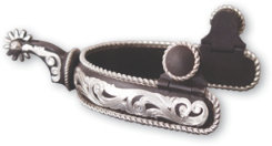 Classic Equine Rope Scroll Spur Best Price