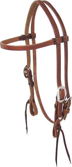 Martin Saddlery Headstall with QuickChange Bit Attachment
