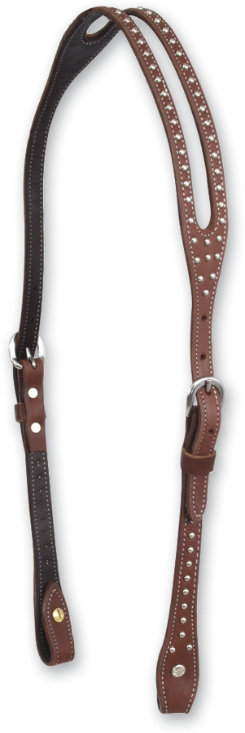 Martin Saddlery Chestnut Headstall with Dots Best Price