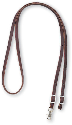 Martin Saddlery Latigo Leather Roping Reins