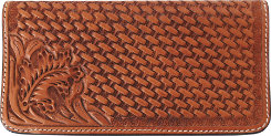 Martin Saddler Leather Check Book Cover