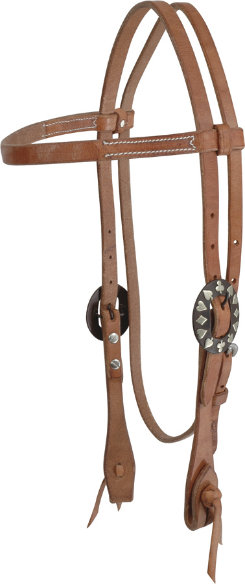 Martin Saddlery Cowboy Card Buckle Browband Headstall Best Price