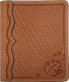 Martin Saddlery Leather Notebook Cover
