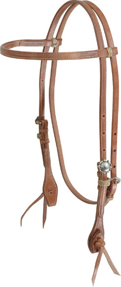 Martin Saddlery El Paso Buckles Browband Headstall