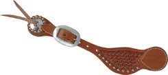 Martin Saddlery Pecos Basket Stamp Spur Strap with Dots Best Price