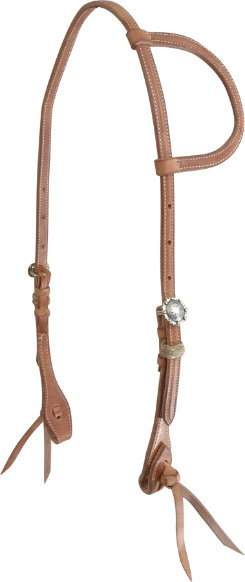 Martin Saddlery El Paso Buckle Slip Ear Headstall