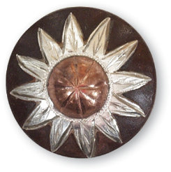 Martin Sadderly Copper Flower Concho