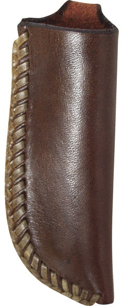 Martin Saddlery Knife Scabbord with Rawhede Lacing
