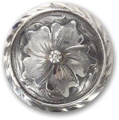 Martin Saddlery Wyoming Flower Concho Best Price