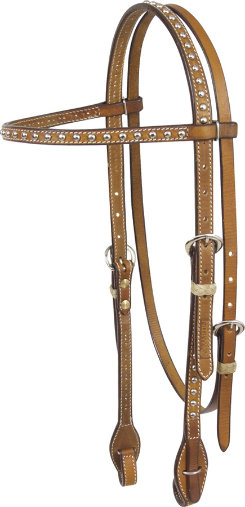 Martin Saddlery Browband Headstall with Dots Best Price