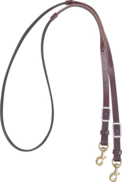 Martin Saddlery Biothane Leather Barrel Rein Best Price